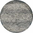 Hersom Gray/Teal Area Rug Rug Size: 7'10 x 10'