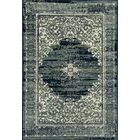 Channel Teal Blue Area Rug Rug Size: 3'3 x 4'11