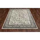 Channel Cream Area Rug Rug Size: 5'3 x 7'7