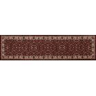 Landy Burgundy/Cream Area Rug Rug Size: Runner 2'2