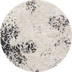 Mcconnell Dark Gray Area Rug Rug Size: ROUND 7'10