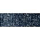 Devay Floral Steel Blue Area Rug Rug Size: Runner 2'7