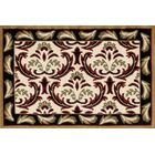 Willard Black/Green Area Rug Rug Size: Rectangle 2.7' x 4.1'