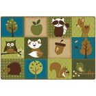 Nature's Friends Toddler Area Rug Rug Size: 4' x 6'
