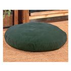 Round Dog Bed Color: Green, Size: 50