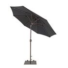 9' Market Umbrella Color: Black