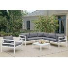 Ostler 5 Piece Sectional Set with Cushions