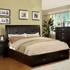 Lucas Upholstered Storage Platform Bed Size: Full, Color: Espresso