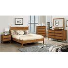 Eckles Platform Bed Size: King, Color: Oak