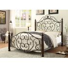 Lucia Metal Bed Size: Twin