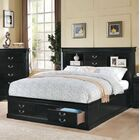 Covertt Platform Bed with Storage Size: Queen, Color: Black