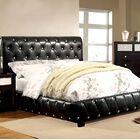 Tyson Upholstered Platform Bed Color: Black, Size: Twin