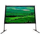 Cinema White Portable Projection Screen Viewing Area: 144