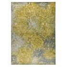 Austin Hand-Woven Gold/Gray Area Rug Rug Size: 4' x 6'