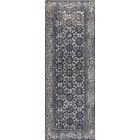 Houston Hand-Woven Gray Area Rug Rug Size: Runner 2'6