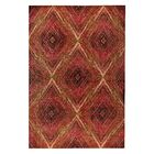 Lansing Hand-Woven Red Area Rug Rug Size: 5' x 8'