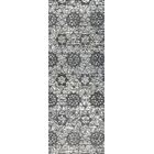 Baltimore Hand-Woven Charcoal/Gray Area Rug Rug Size: Runner 2'6