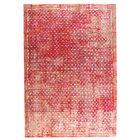 Ferrara Hand-Woven Red/Beige Area Rug Rug Size: 8' x 10'
