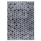 Nihal Hand-Woven Gray/Blue Area Rug Rug Size: Rectangle 5' x 8'