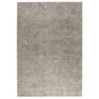 Salem Hand-Woven Taupe Area Rug Rug Size: 2' x 3'