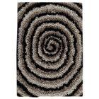 Landscape Hand-Tufted Black/Gray Area Rug