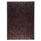 Chess Hand woven Black/Brown Area Rug Rug Size: 8' x 10'