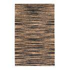 Chriseda Hand-Woven Golden/Gray Area Rug Rug Size: 4' x 6'