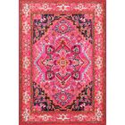 Clarke Pink Area Rug Rug Size: Rectangle 6'7
