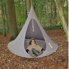 Double Chair Hammock Color: Deep Taupe