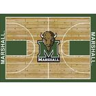 NCAA College Home Court Marshall Novelty Rug Rug Size: Rectangle 10'9
