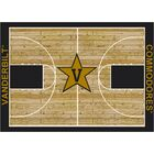 NCAA Area Rug Rug Size: Rectangle 5'4