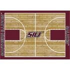 NCAA College Home Court Southern Illinois Novelty Rug Rug Size: Rectangle 5'4