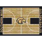 NCAA College Home Court Southern Mississippi Novelty Rug Rug Size: Rectangle 7'8