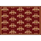 NCAA Team Repeating Novelty Rug Rug Size: Rectangle 10'9