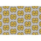 NCAA Team Repeating Novelty Rug NCAA Team: University of Notre Dame