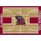 NCAA College Home Court Alabama Novelty Rug Rug Size: Rectangle 10'9