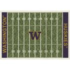 NCAA Home Field Novelty Rug Rug Size: Rectangle 7'8