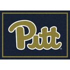 Collegiate University of Pittsburgh Panthers Mat Mat Size: Rectangle 3'10