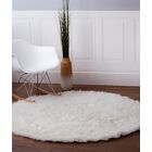 Lawanda Handmade White Area Rug Rug Size: Rectangle 8' x 10'
