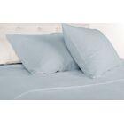 Agata 300 Thread Count 100% Tencel Sheet Set Size: California King, Color: Madras Blue