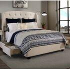 Sornson Upholstered Storage Platform Bed Size: Queen, Color: Grey