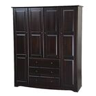 Primm Family Armoire Color: Java