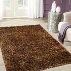 Handmade Light Brown Area Rug Rug Size: 4'11