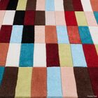 Hand-Woven Area Rug Rug Size: 4'11
