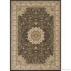 Arquette Black Area Rug Rug Size: 5'3