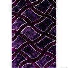 Borgman Hand-Tufted Lilac Area Rug Rug Size: 4'11