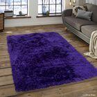 Keaney Purple Area Rug Rug Size: 7'6