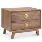 Sloan End Table Color: Gold