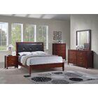 Vanalstyne Panel 5 Piece Bedroom Set Bed Size: Queen, Color: Cherry
