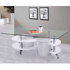 Coffee Table Set Base Color: White